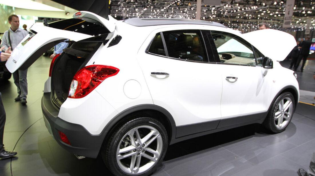 Opel Mokka, Autosalon Genf 2012, Messe