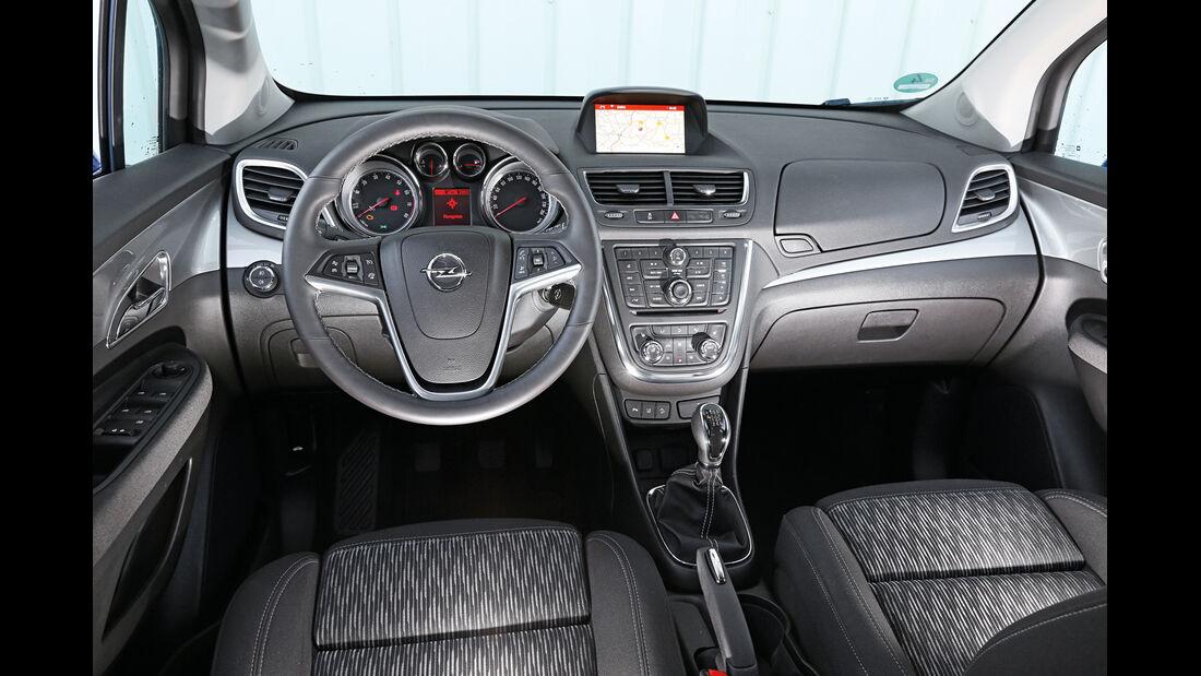 Opel Mokka, Cockpit