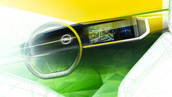 Opel Mokka Cockpit digital