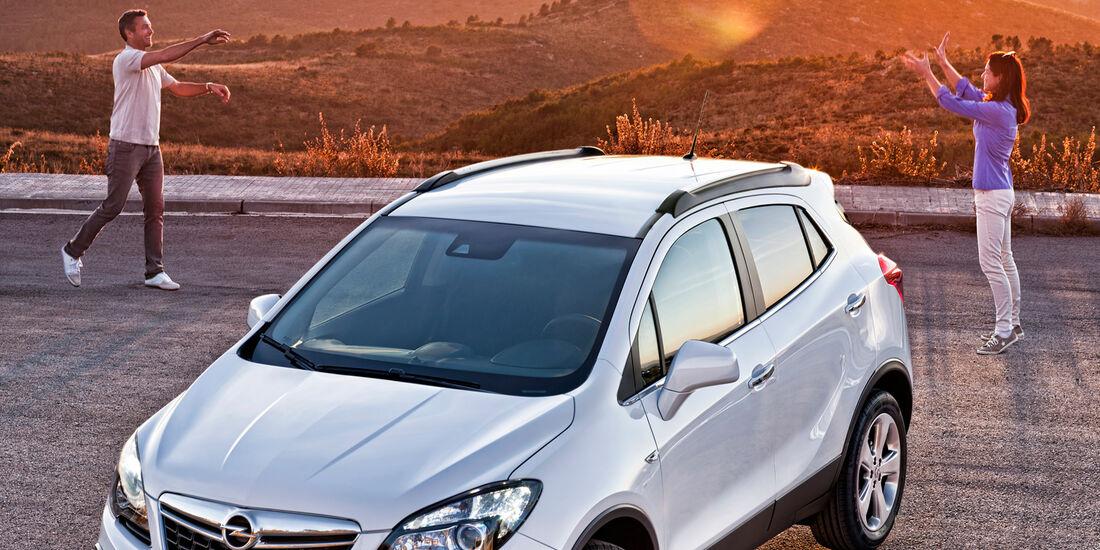 Opel Mokka, Draufsicht