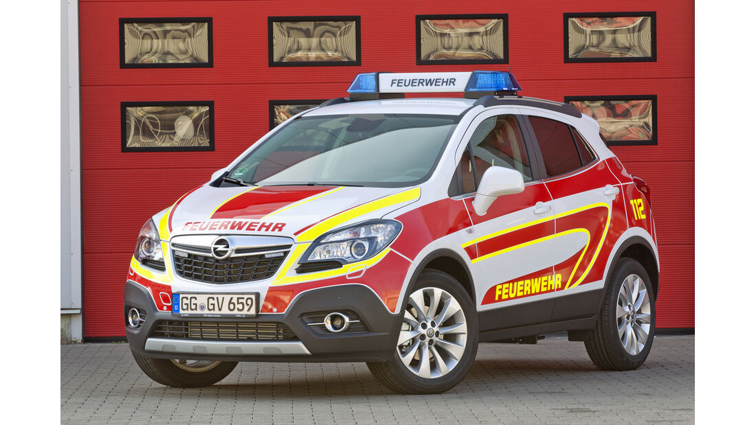 Opel Mokka Einsatzfahrzeug vorne