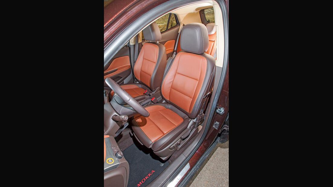 Opel Mokka, Fahrersitz