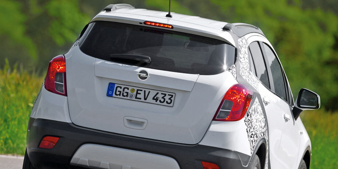 Opel Mokka, Heck
