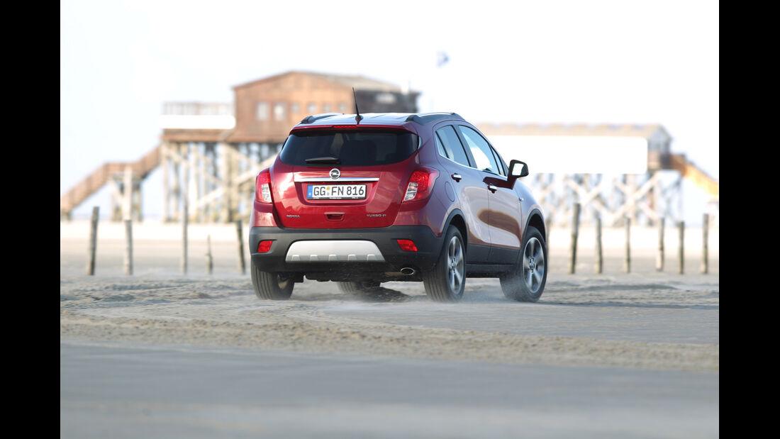 Opel Mokka, Heckansicht