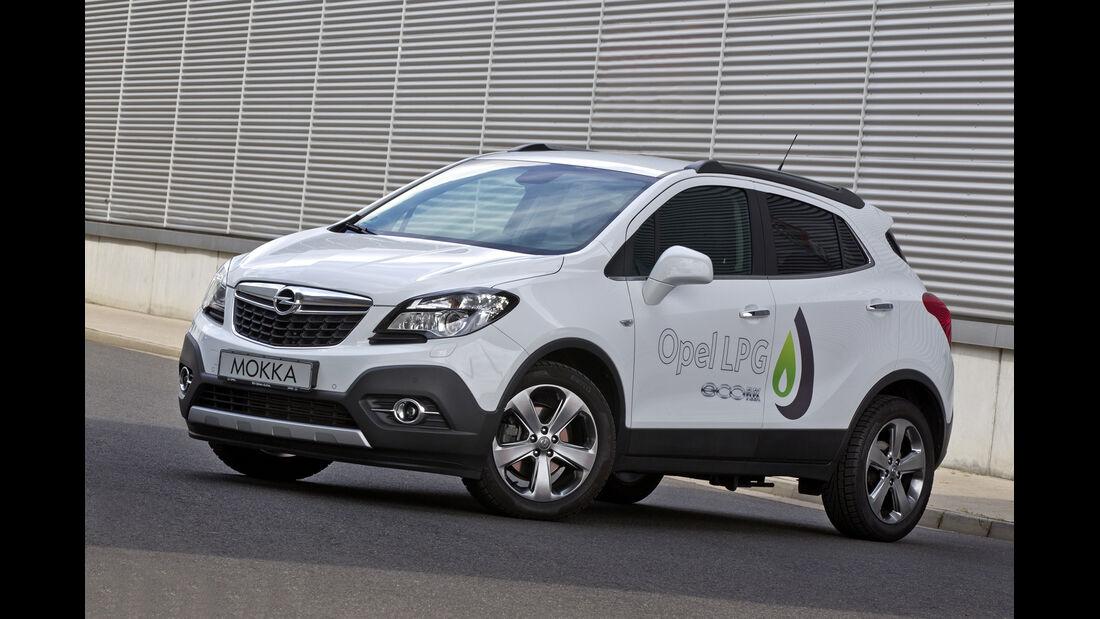 Opel Mokka LPG 1.4 Front Side