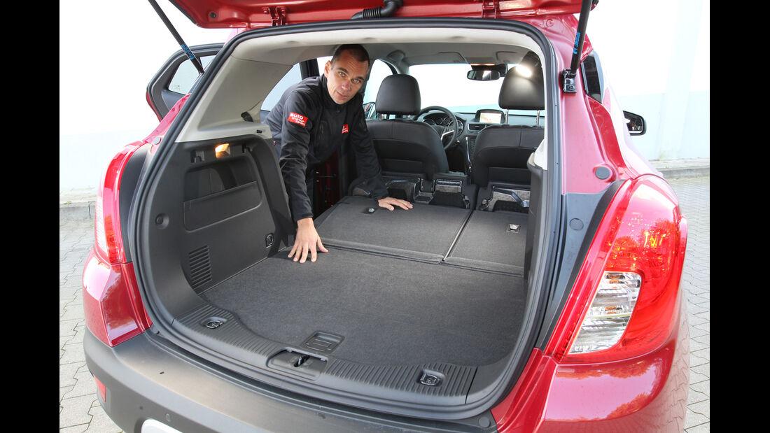 Opel Mokka, Ladefläche, Kofferraum