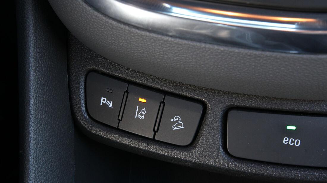 Opel Mokka, Mittelkonsole, Bedienelemente