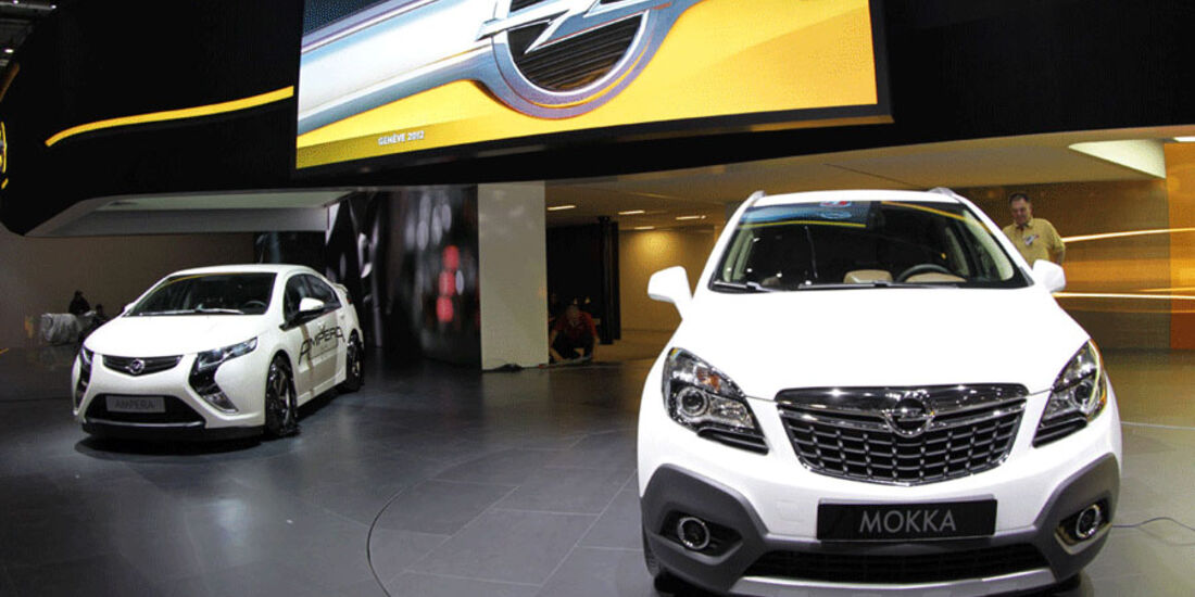 Opel Mokka, Opel Ampera, Autosalon Genf 2012