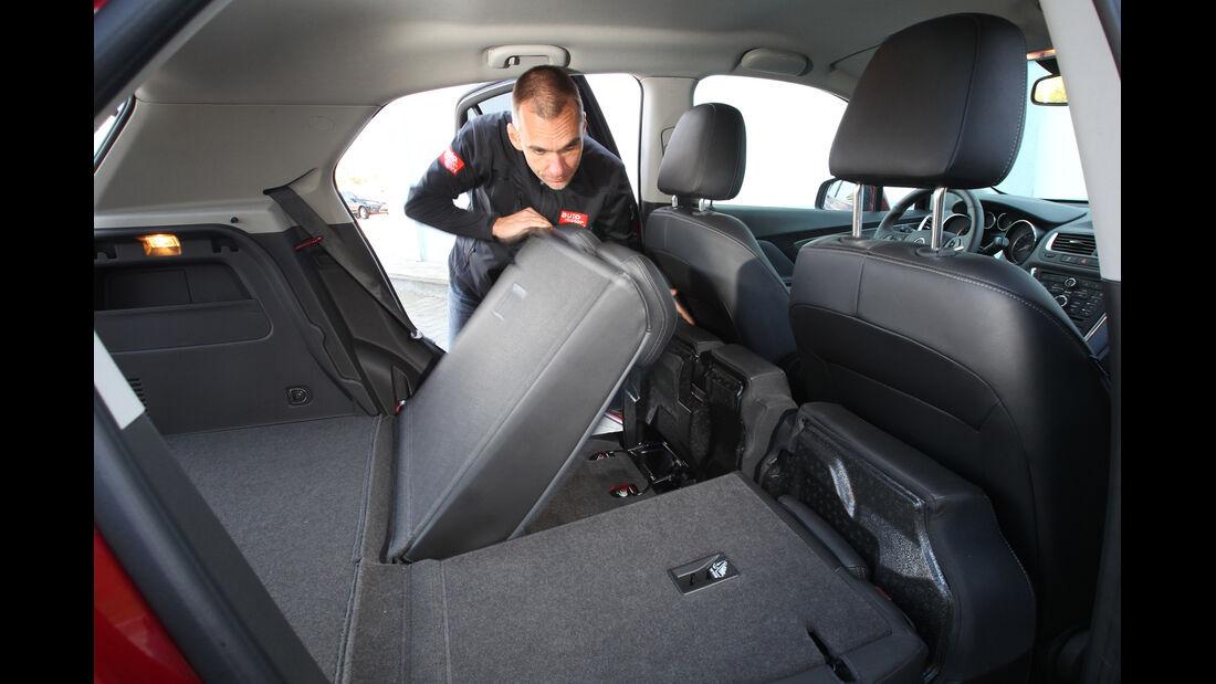 Opel Mokka, Rücksitz, umklappen