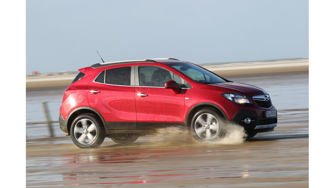 Opel Mokka, Seitenansicht