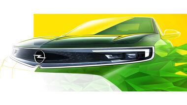 Opel Mokka Teaser Kühlergrill