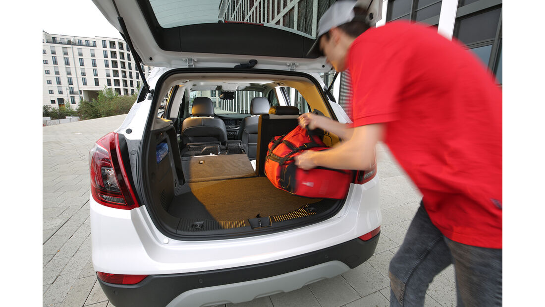 Opel Mokka X 1.4 Turbo, Kofferraum