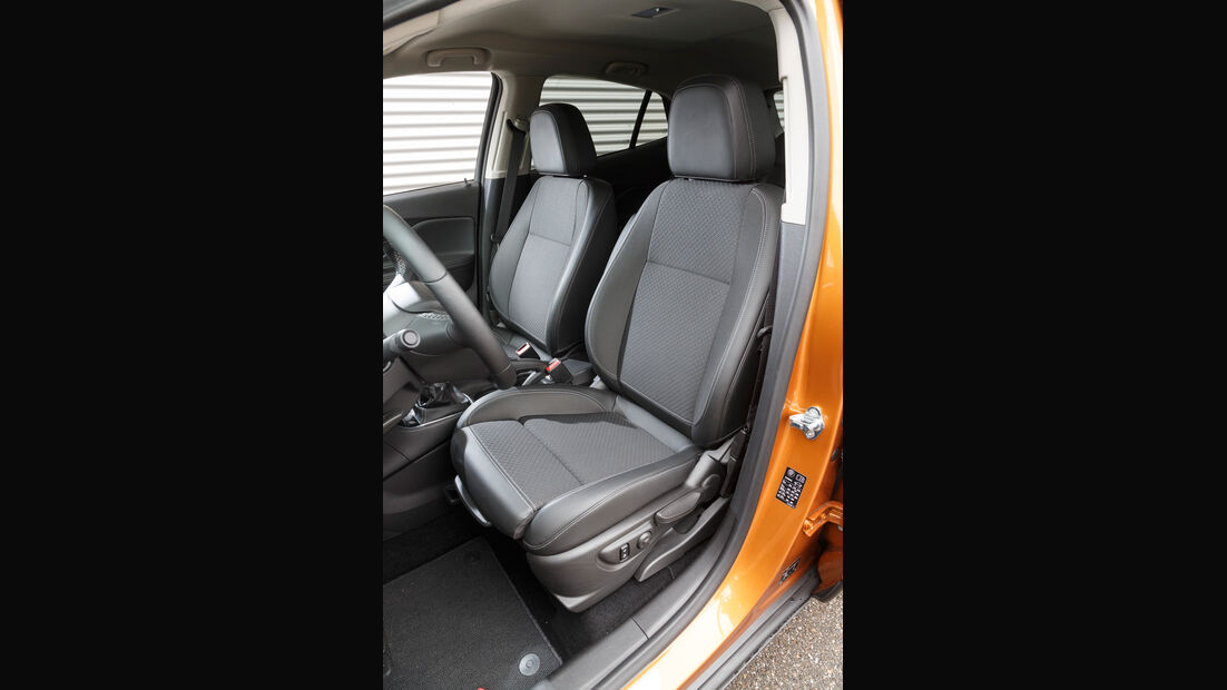 Opel Mokka X 1.6 CDTI 4x4, Fahrersitz
