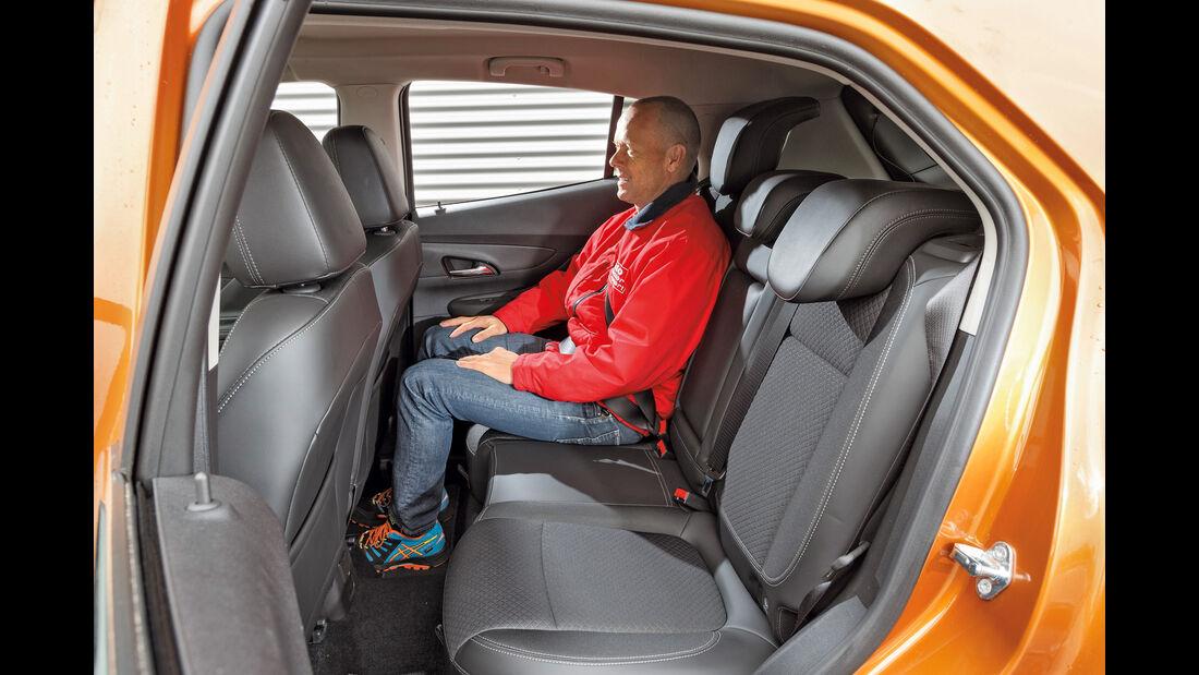 Opel Mokka X 1.6 CDTI 4x4, Fondsitze