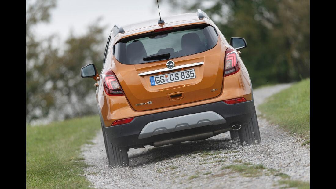 Opel Mokka X 1.6 CDTI 4x4, Heckansicht