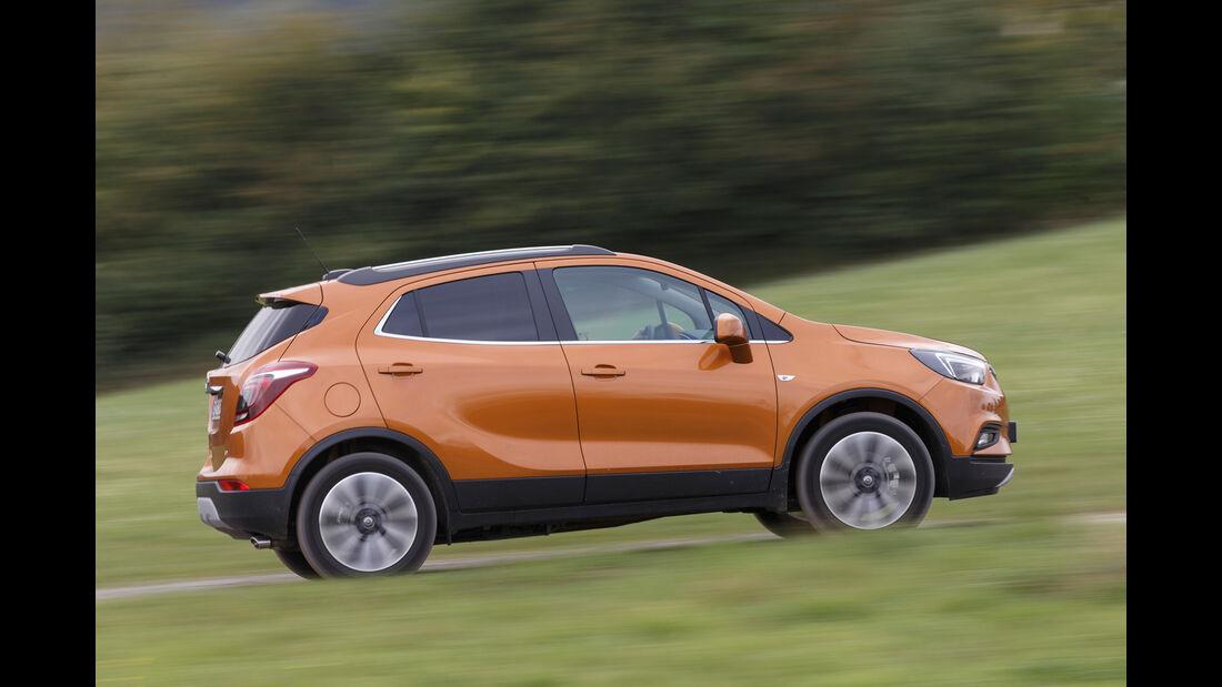Opel Mokka X 1.6 CDTI 4x4, Seitenansicht