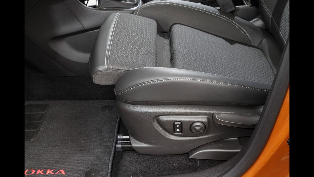 Opel Mokka X 1.6 CDTI 4x4, Sitzverstellung