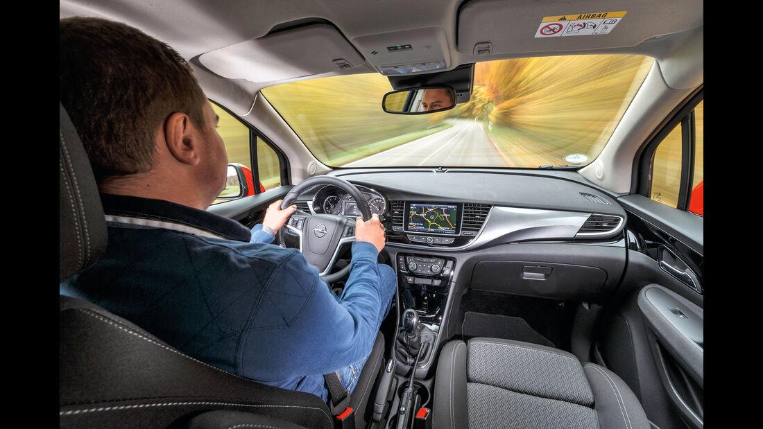 Opel Mokka X 1.6 CDTI, Fahrersicht