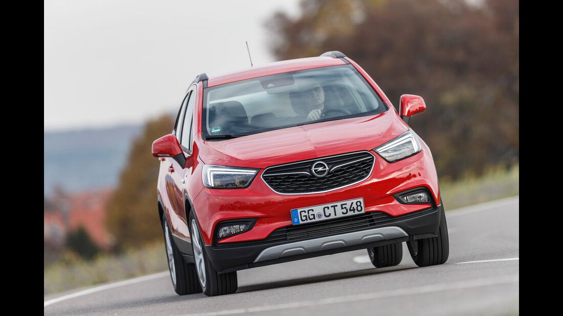 Opel Mokka X 1.6 CDTI, Frontansicht