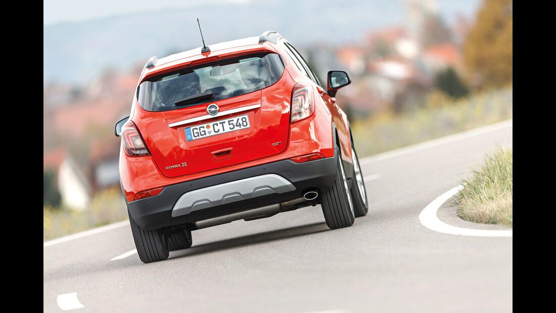 Opel Mokka X 1.6 CDTI, Heckansicht