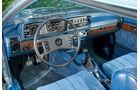 Opel Monza 3.0 E, Cockpit, Lenkrad