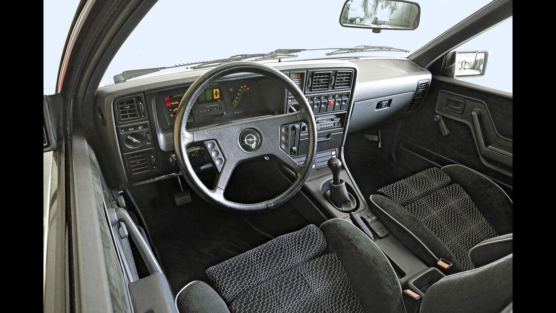 Opel Monza GSE, Interieur