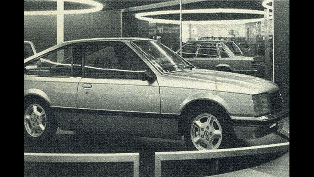 Opel, Monza, IAA 1977