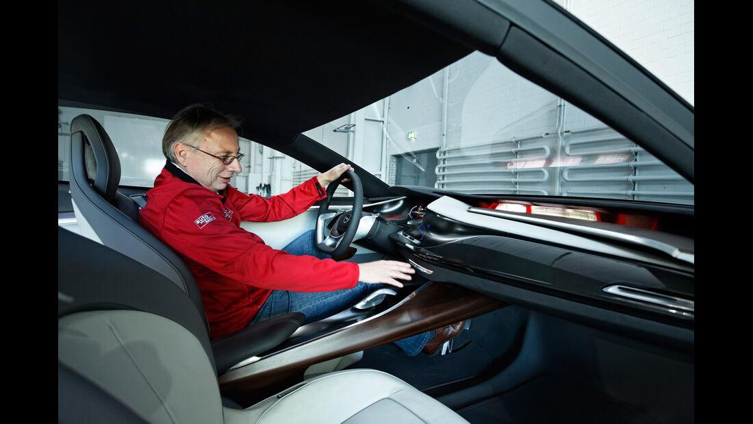 Opel Monza, Innenraum