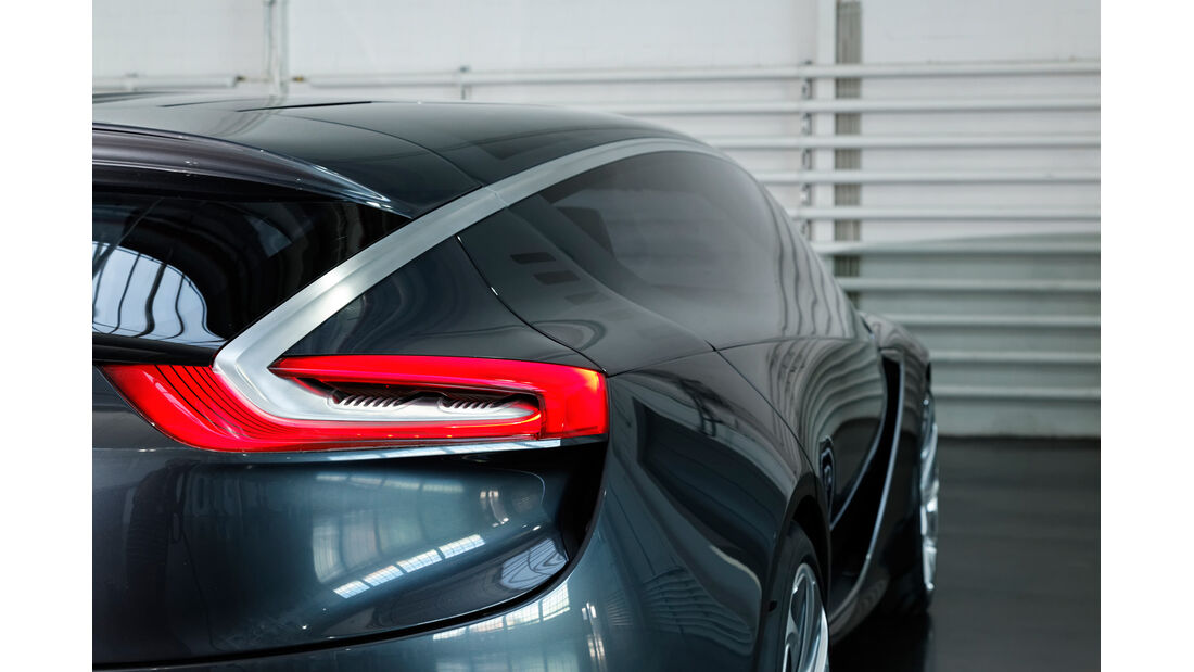 Opel Monza, Rücklicht