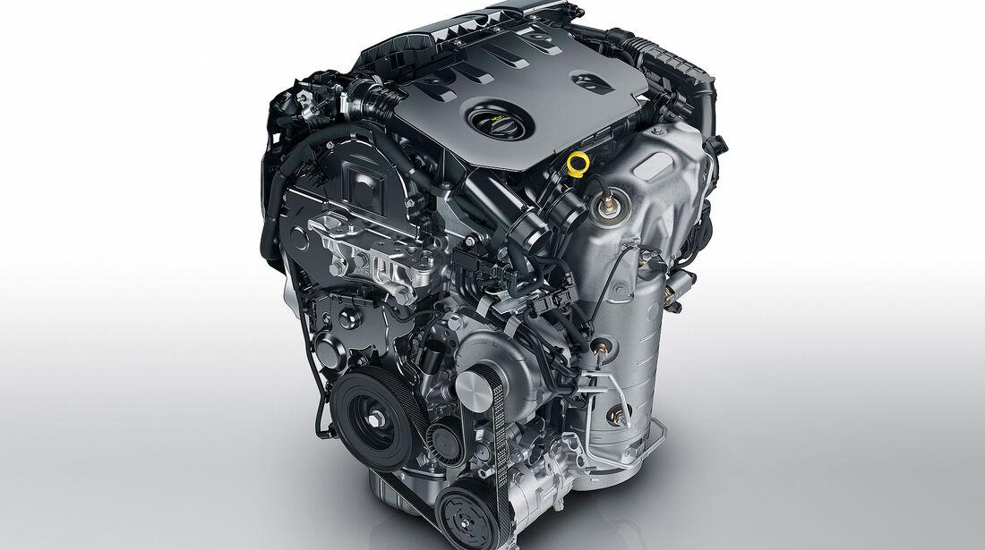 Opel Motoren 1.5 Turbo D Vierzylinder-Diesel 2018