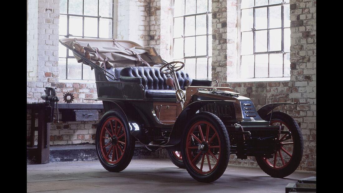Opel Motorwagen 9 PS System Darracq Tonneau 1902