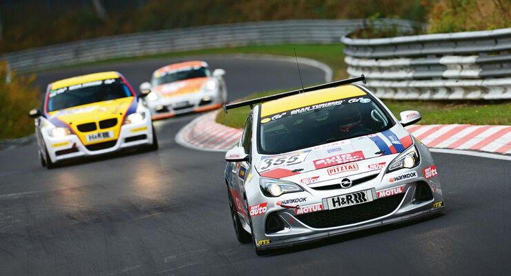 Opel OPC Cup, Rennszene