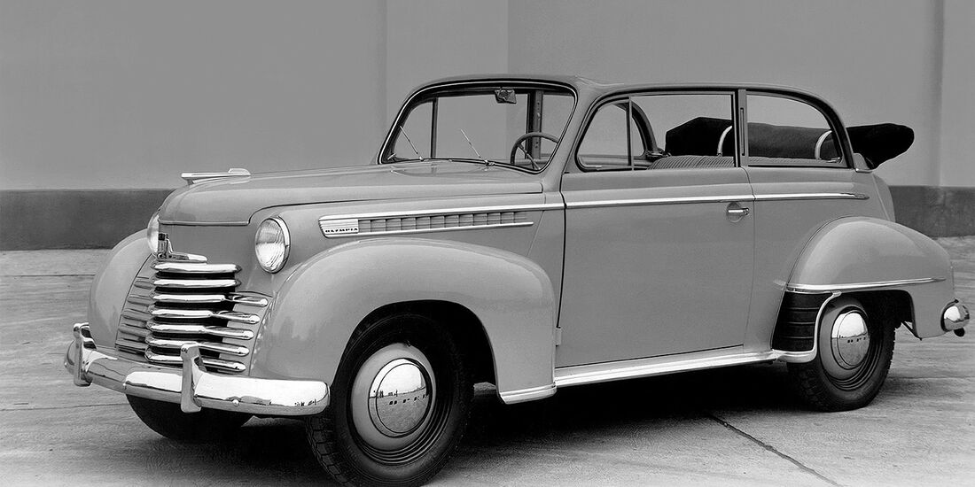 Opel Olympia Cabriolet 1950-53