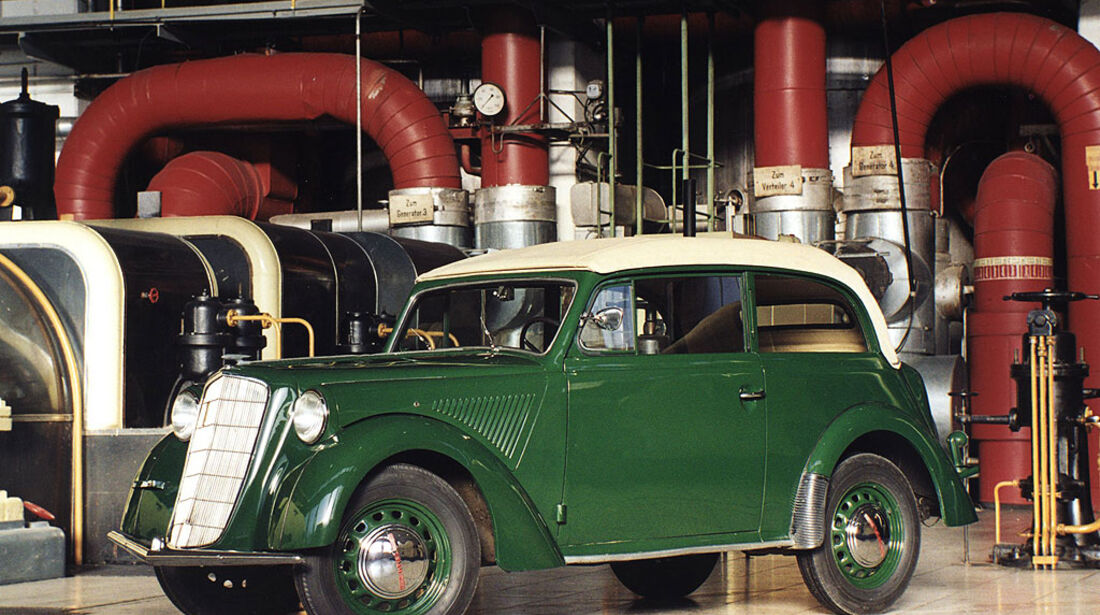 Opel Olympia Cabriolet- Limousine, 1935