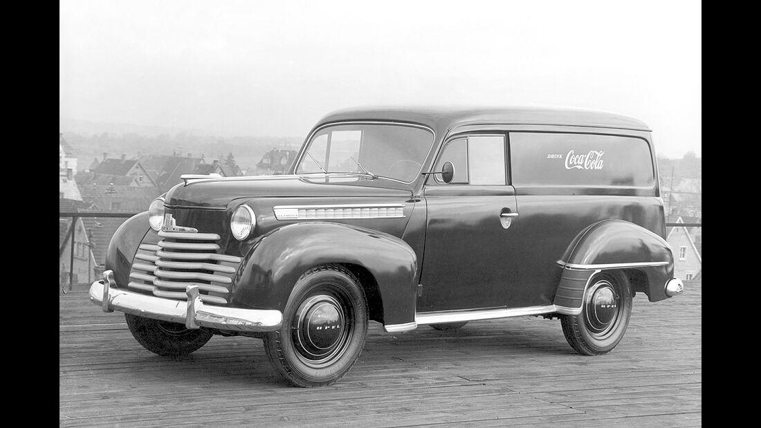Opel Olympia, Lieferwagen 1950-1951