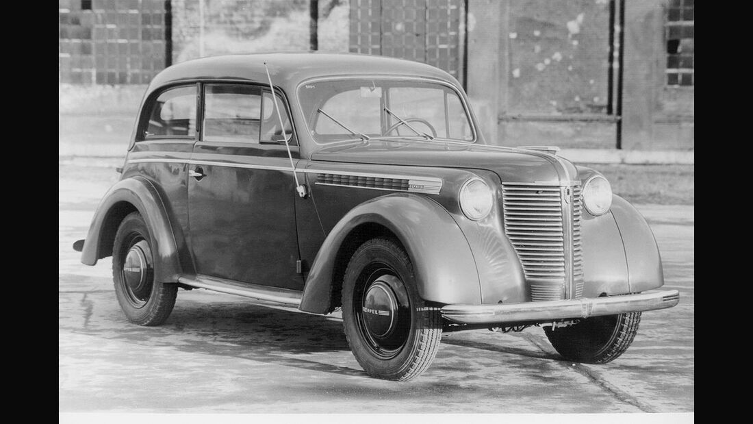 Opel Olympia Limousine, 1947