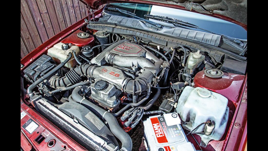 Opel Omega 2.6i CD Diamant, Motor