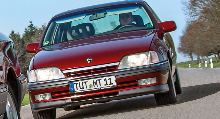 Opel Omega A, Frontansicht