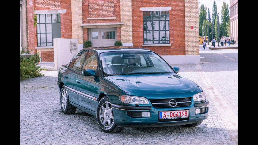 Opel Omega B Mv6, Frontansicht