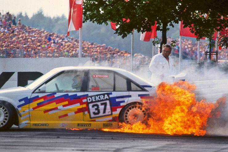 Opel Omega, Volker Strycek