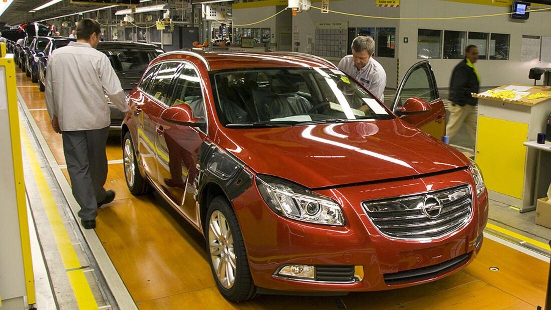Opel Produktion Band Werk R�sselsheim