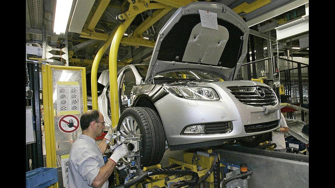 Opel Produktion Insignia Werk Rüsselsheim
