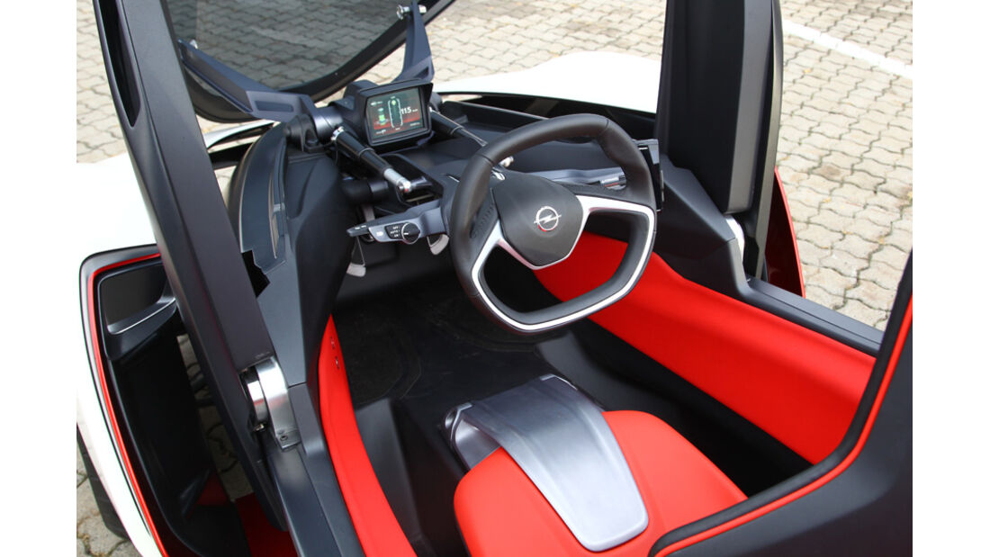 Opel RAK-e, Cockpit