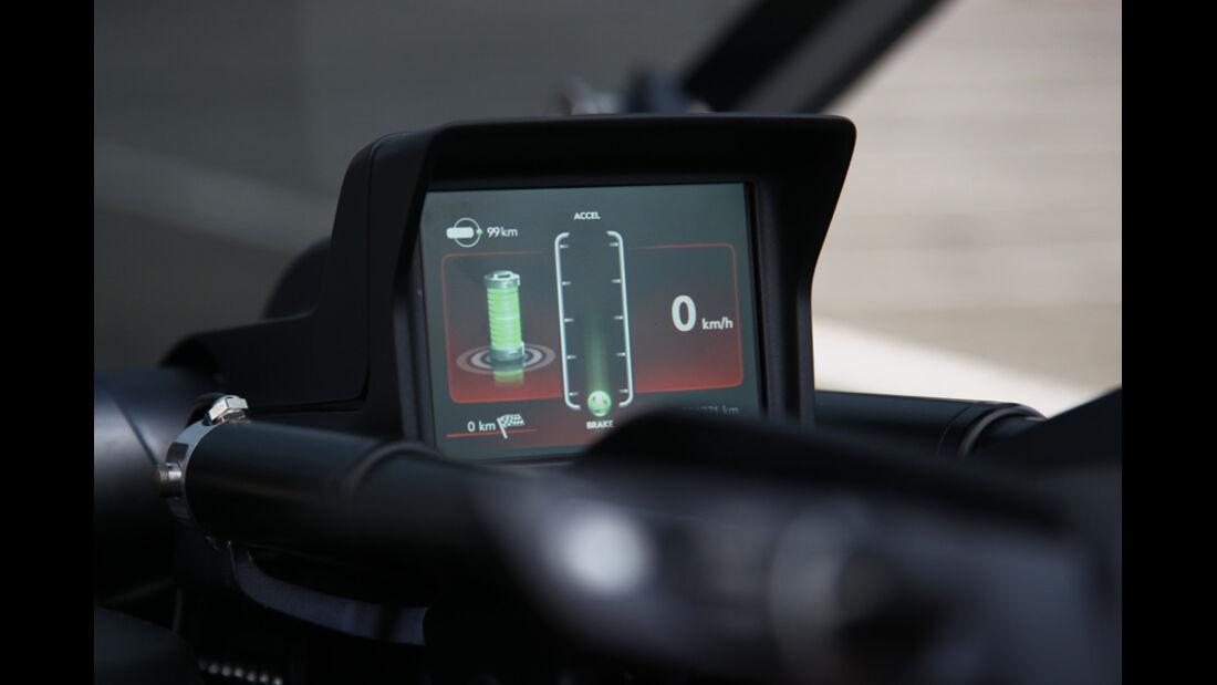 Opel RAK-e, Display