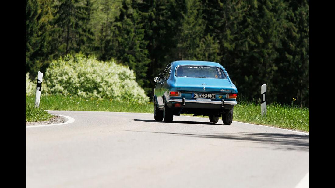 Opel Rallye Kadett 1100 SR, Heckansicht