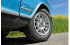 Opel Rallye Kadett 1100 SR, Rad, Felge