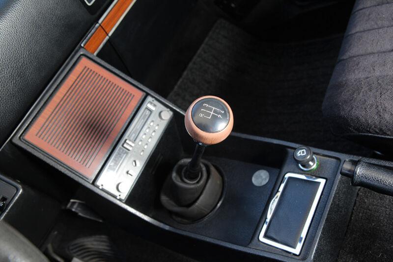 Opel Record 2000 Berlina, Schalthebel, Schaltknauf