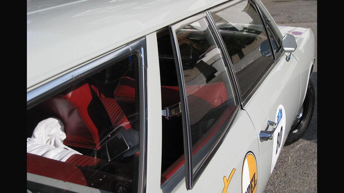 Opel Rekord C Caravan bei der Silvretta Classic 2015