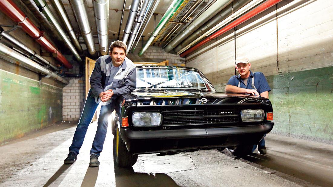 Opel Rekord C, Schwarze Witwe, Michael Splieth, Jens Cooper