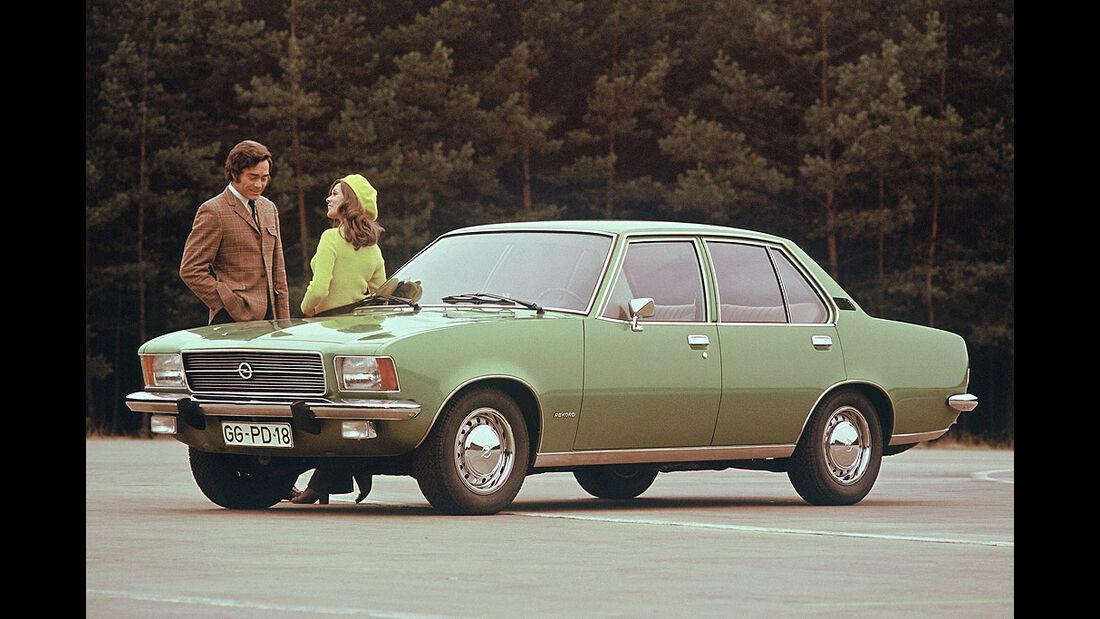 Opel Rekord D, Luxus, 1972-1977